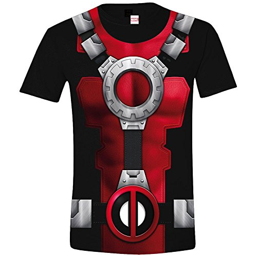 Deadpool Costume T-Shirt nero L