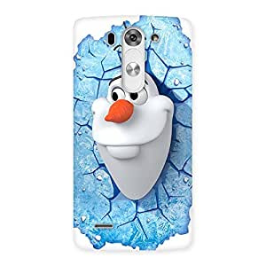 Impressive Snowy Olfa Multicolor Back Case Cover for LG G3 Beat