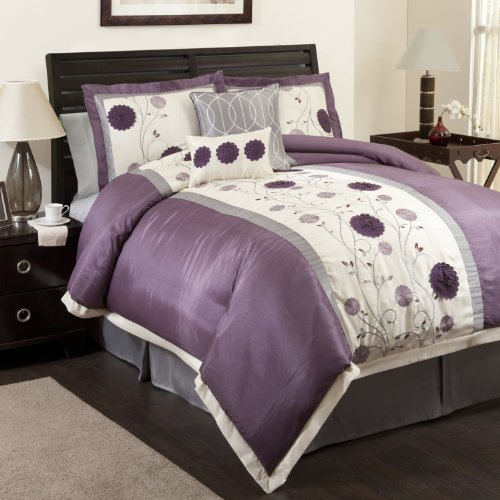 Beautiful Purple and Grey Comforter Sets 500 x 500 · 48 kB · jpeg