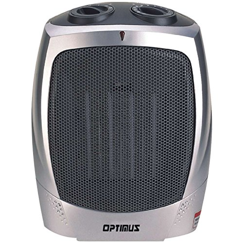IX57N Optimus H-7004 Portable Ceramic Heater with Thermostat