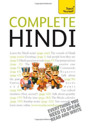 Complete Hindi: A Teach Yourself Guide (Teach Yourself...