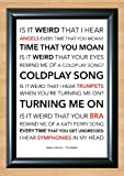 Jason Derulo 'Trumpets' Lyrical Song Print Poster Art A4 Size (Typography)