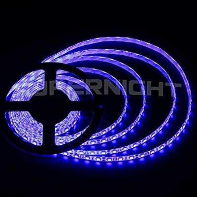 DUMVOIN DC12V 16.5ft/5M 5050 300LEDs LED Strip Light IP65 Waterproof Flexible LED Light Tape 60LEDs/M Plug and Play Indoor Outdoor Decoration for Christmas Holiday Wedding Decoration