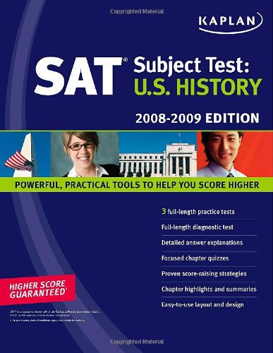 Kaplan SAT Subject Test: U.S. History, 2008-2009 