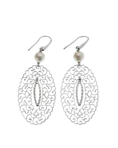 Le Perle Di Emi Kaway Orecchini Argento Perla 8-8,5 mm [Bianco]