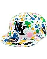 SMO cap chapeau de hip-hop à plat le long de la jet d'encre couleur sous-graffiti NY casquette de baseball (570)