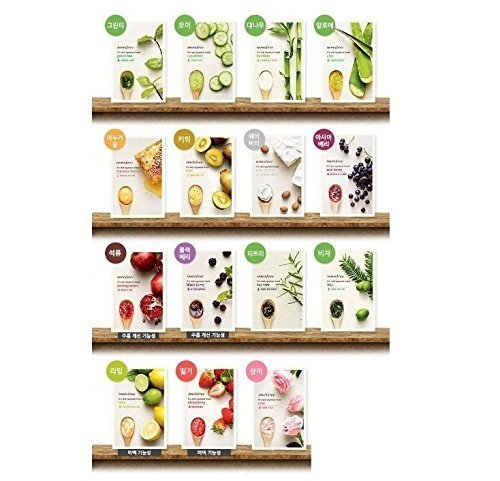 Innisfree It s Real Squeeze Mask Sheet x 15 sheets