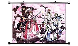"Tsubasa Reservoir Chronicle Anime Fabric Wall Scroll Poster (32"" X 22"") Inches"