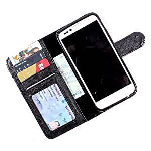For HTC One V - PU Leather Wallet Flip Case Cover