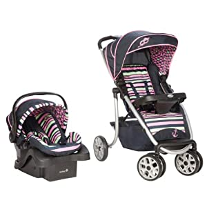 Safety 1st SleekRide Premier Travel System, Sweet Sailing