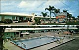 Lake Wales Motel & Restaurant Lake Wales, FL Original Vintage Postcard