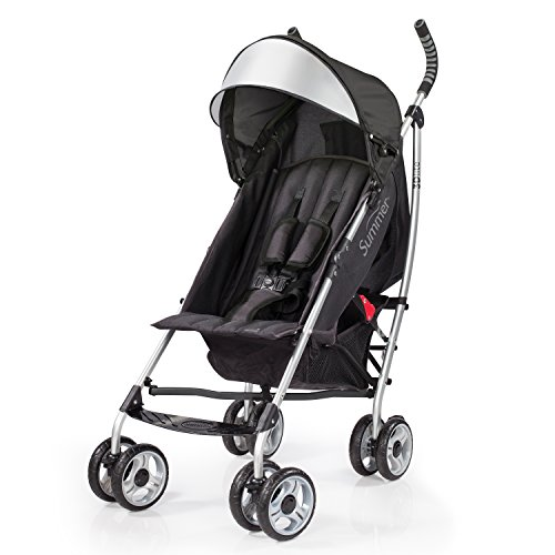 Best Prices! Summer Infant 2015 3D Lite Convenience Stroller, Black