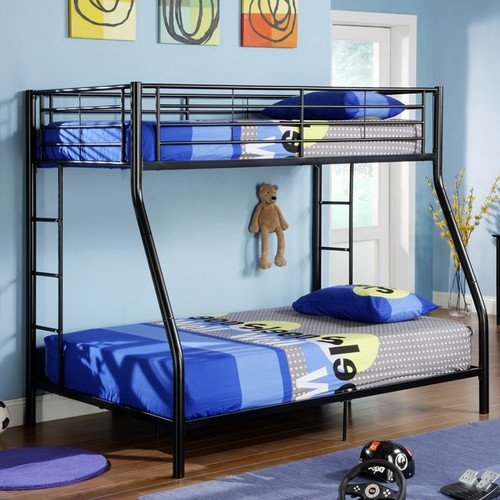 Full Over Futon Bunk Bed 8539 front