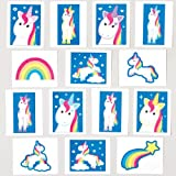 Tatouages-Temporaires-Licornes-et-Arcs-en-ciel-Parfaits-pour-les-Pochettes-surprises-des-Enfants-Lot-de-24