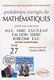 Math�matiques HEC 2006-2007 : Tome 27 (option scientifique)