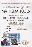 echange, troc Christian Leboeuf - Mathématiques HEC 2006-2007 : Tome 27 (option scientifique)