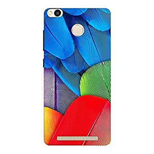 Joe Printed Hard Back Case For Xiomi Redmi 3S Prime Mobile (Multicolor)