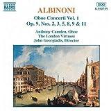 Albinoni: Oboe Concerti, Vol. 1