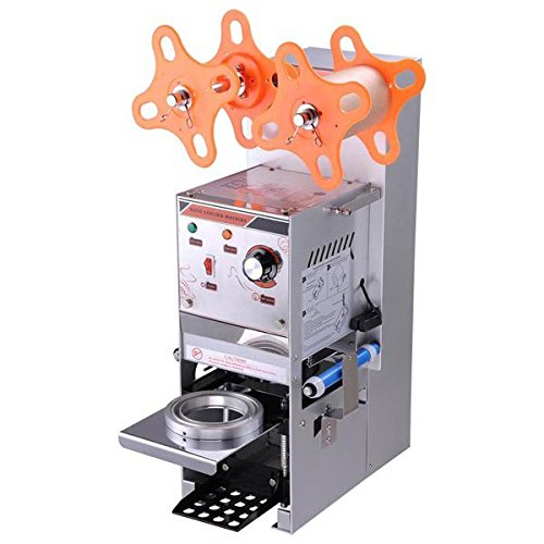 Commercial Grade Semi-Automatic Bubble Boba Tea Cup Sealer Sealing Machine