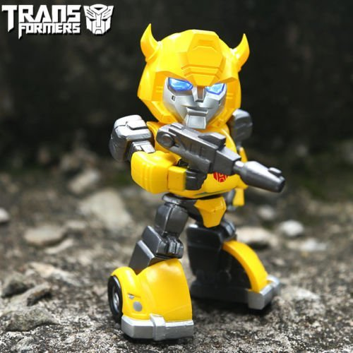 Bumblebee LED Light up Action Figure Toy Q Version with Box