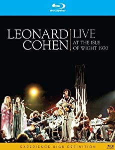 Leonard Cohen - Live At He Isle Of Wight 1970 [Reino Unido] [Blu-ray]