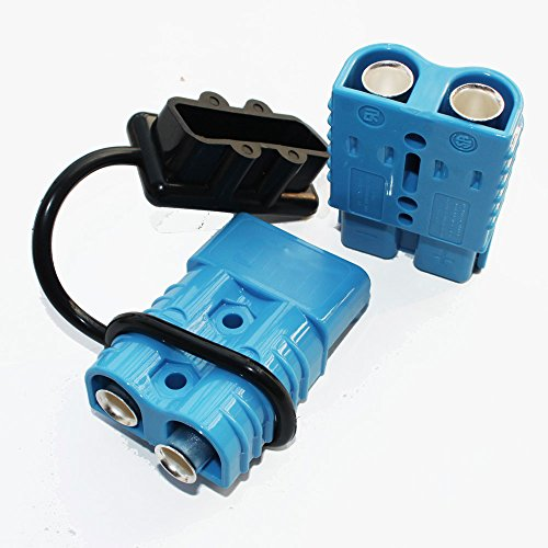 X-Haibei Battery Quick Connector Kit Blue 175A Connect Disconnect Black Cover Winch Trailer Plug 2AWG (Trailer Winch Cover compare prices)
