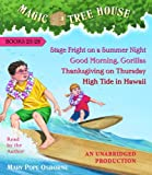 img - for Magic Tree House Collection Volume 7: Books 25-28: #25 Stage Fright on a Summer Night; #26 Good Morning, Gorillas; #27 Thanksgiving on Thursday; #28 High Tide in Hawaii book / textbook / text book