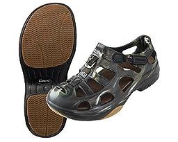 Shimano Evair Marine Fishing Shoes Khaki/Black Size 10