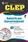 CLEP American Government w/ CD-ROM (CLEP Test Preparation) (0738603066) by Jones Ph.D., Dr. Preston