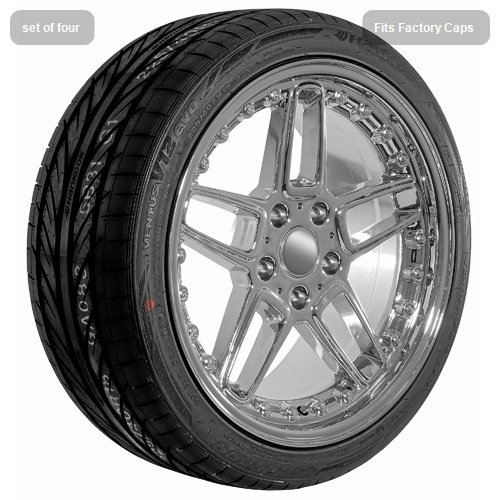 18 Inch Chrome 810 Series Wheels Rims and Tires for BMW