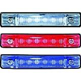 AMRT-LED-51803-DP * T&H Marine RED Led Slimline Utility Lite 4''