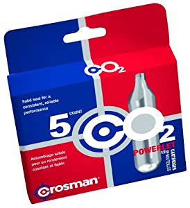 Crosman 5 Count 12g Powerlet CO2 cartridges