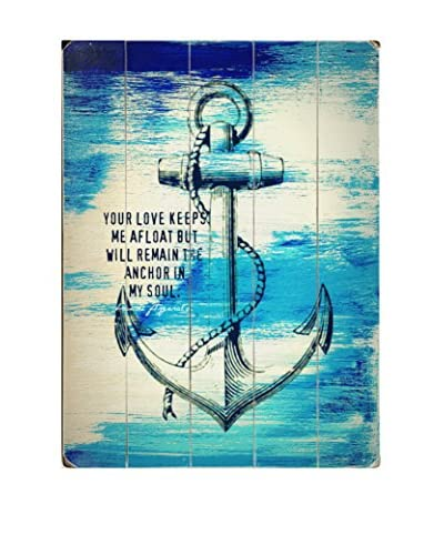 ArteHouse Your Love Keeps Me Afloat Wood Wall Decor