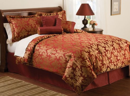 Cyrus Queen Comforter Set with Bonus Pillows