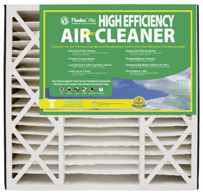 20x25x5, Percisionaire Air Cleaner Merv 8, 82655.052025, Pack2 (Flanders Filters 20x25x5 compare prices)