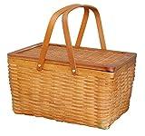 Rectangle Handwoven Chipwood Basket