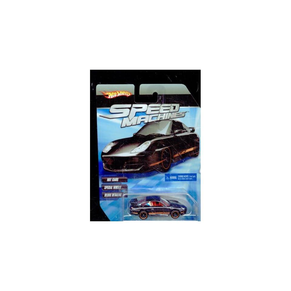 Hot Wheels Speed Machines Porsche 911 GT3 Road BLACK 164 Scale