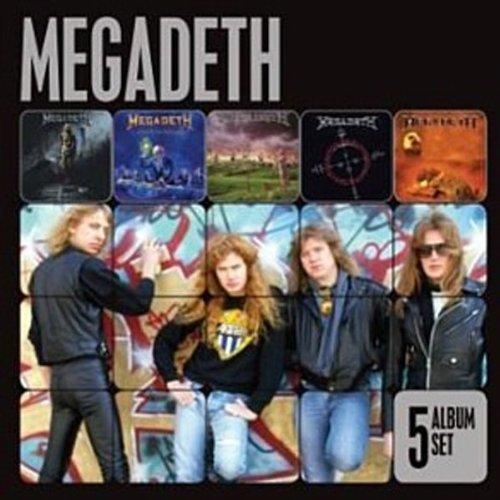 Megadeth - 5 Albums