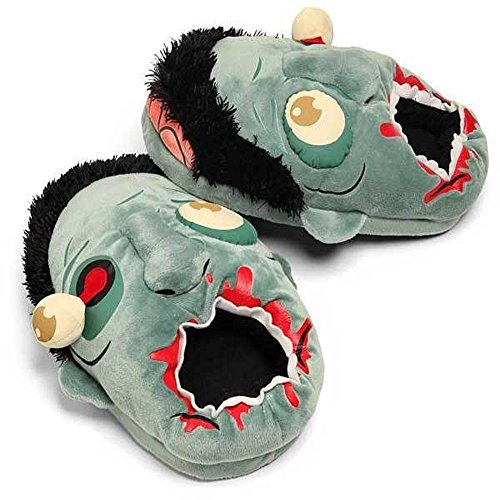 Think Geek TGEA01 Zombie Plush Slippers (Cool Slippers For Women compare prices)