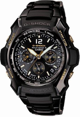 CASIO(カシオ) 腕時計 G-SHOCK BLACK × GOLD Series タフソーラー 電波時計 MULTIBAND 6 GW-2000BGD-1AJF メンズ