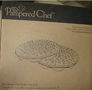 Amazon Com Pampered Chef Microwave Chip Maker Set
