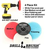 Power Scumbusting Scrubbing Kit for Bathroom Tub and Tile