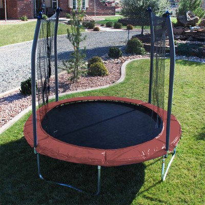 Skywalker-Trampolines-10-ft-Round-Trampoline-with-Enclosure-Color-Green