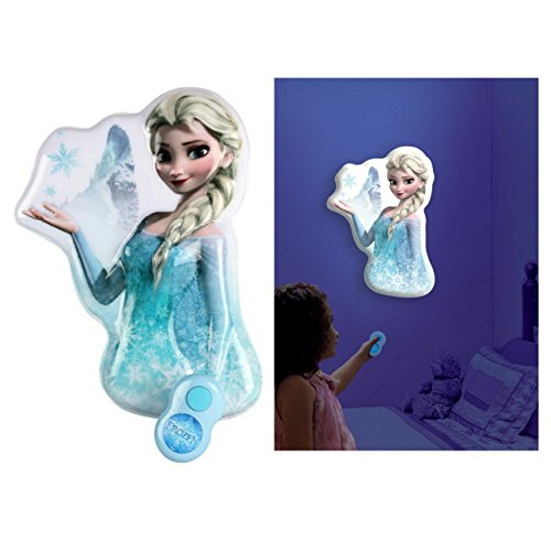 Disney Frozen Elsa Wall Decal Night Light with Remote Control