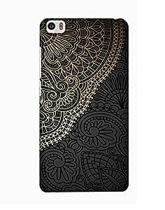 Pick Pattern Back Cover for Xiaomi Mi Note (MATTE)