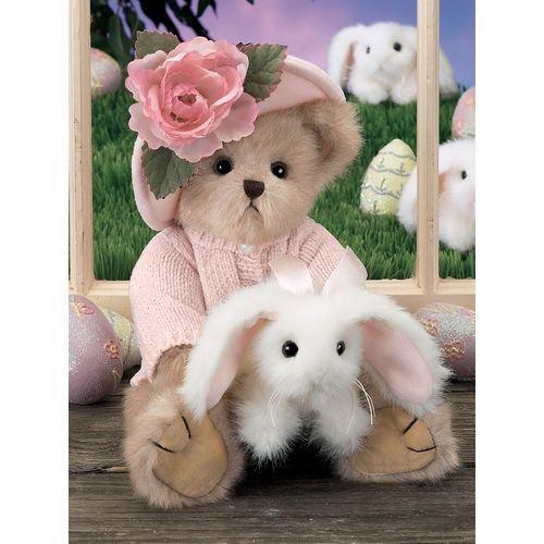Bearington - Rose and Bud Stuffed Animal - Bear and Easter Bunny - #1631