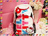 Hello Kitty School Backpack for Kids Colorful & White (17 Inch) thumbnail