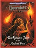 Van Richtens Guide to the Ancient Dead (Advanced Dungeons & Dragons: Ravenloft, Campaign Accessory/9451)