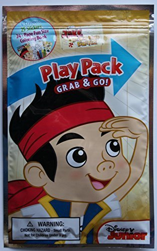 Disney Junior Jake & the Neverland Pirates Grab and Go Play Pack - 1