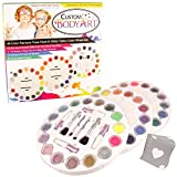 Custom Body Art 16 Color Rainbow Wheel Glitter Tattoo Set & 32 Color Face Painting Combo Set